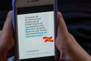Governo do Estado envia 3 milhões de mensagens com alertas de casos de Covid-19