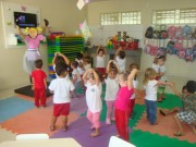 Projeto Circo estimula o imaginário das crianças