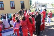 """Crianças fazem parte de projeto sobre o Programa """"Paz na Linha"""""""