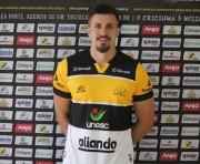 Zagueiro Henrique é apresentado oficialmente ao Criciúma Esporte Clube