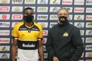 Atacante Thiago Henrique é apresentado no Criciúma Esporte Clube