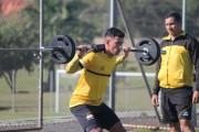 Jogadores do Tigre treinam em dois períodos no CT Antenor Angeloni