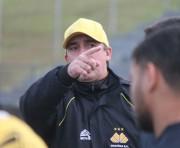 Paulo Baier comanda treino técnico tático visando jogo com o Oeste-SP