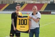 Eduardo completa 100 jogos com a camisa do Criciúma Esporte Clube
