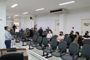 Servidores da Câmara Municipal de Içara participam de palestra