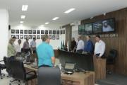 Vereadores fazem um minuto de silêncio em homenagem a Lima