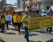 Caminhada da Vida leva orientação à comunidade em MF