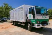 Entrega de novo caminhão de coleta seletiva irá gerar economia