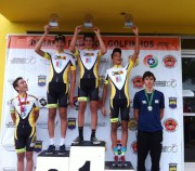 Ciclismo de Içara conquista seis troféus em campeonato estadual