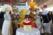Carnevalli Di Veneza invade os Terminais de ônibus