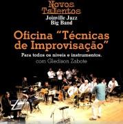 Joinville Jazz Big Band oferece vagas gratuitas em Oficina de Técnicas de Improvisação