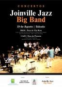 Sábado tem dois concertos da Joinville Jazz Big Band