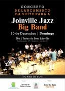 Domingo tem Concerto de Estreia da Suíte para Joinville Jazz Big Band