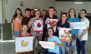 Desenvolvimento Social de Jacinto Machado visita clube de mães