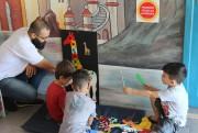 Crianças aprendem sobre diferenças em Colônia de Férias de Içara