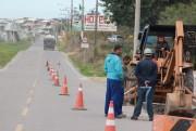 Com obras, tráfego local muda em vias lindeiras à BR-101