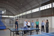 Comitiva de Içara visita ginásios em Erechim