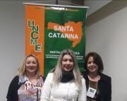 Conselho Municipal de Educação da Amrec participa de seminário estadual em Florianópolis