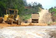 Construção chega a 1.100 metros de bases, nas Obras Complementares da BR-101