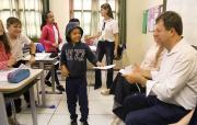 Murialdo dialoga com alunos içarenses sobre respeito e cidadania