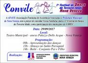 Afave promove 1º Festival de Dança da Terceira Idade em NV