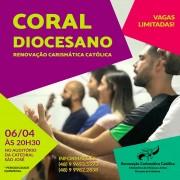 RCC Criciúma lança Coral Diocesano