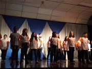Coral infanto-juvenil de Içara faz primeira apresentação fora do Estado