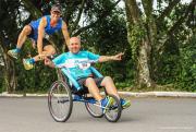 Mais de 45 pessoas com deficiência participarão de corrida de rua na capital catarinense