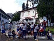 Crianças do Bairro da Juventude conhecem a história de Forquilhinha