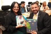 Deputado Daniel Freitas confirma vinda de ministra Damares Alves  em Içara