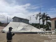 Defesa Civil de Içara alerta para ventos fortes nas próximas horas