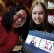 Governadora Daniela participa do Dia da Família na Escola de forma online