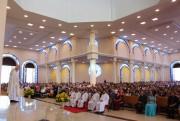 Ordenados mais cinco diáconos da Diocese São José de Criciúma