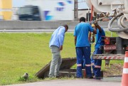 DNIT/SC finaliza melhorias em drenagem, na travessia urbana