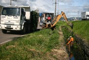 DNIT/SC concentra trabalhos em vias laterais da BR-101, em Tubarão
