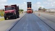 DNIT/SC executa 24 quilômetros de melhorias em pavimento da BR-101 Sul