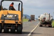 DNIT/SC vai manter melhorias no pavimento da BR-101 nesta semana