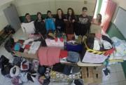Campanha Corrente do Bem ultrapassa 2 mil peças de roupas