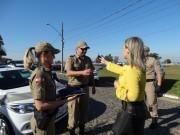 Polícia Militar de Sombrio recebe novas viaturas