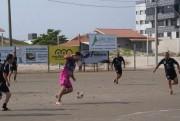 Três jogos deram sequência no Coroa de Bola em Balneário Rincão