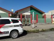 PM reforça segurança em escola de Balneário de Arroio do Silva