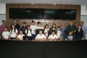 Câmara recebe visita de alunos do Alaíde Tabalipa
