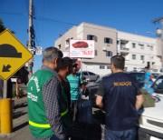 Ação é realizada para coibir comércio ambulante irregular em Cocal