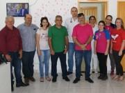 A comissão de Serviços Públicos de Içara visita escola