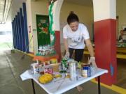 Escola Cantinho Alegre realiza segundo mutirão com os pais