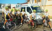 Ciclistas da FMCE participam de desafio na Serra do Rio do Rastro