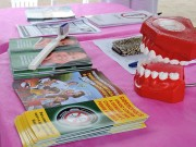 Siderópolis distribui material educativo sobre saúde bucal