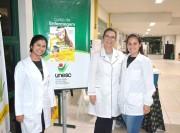 Enfermagem da Unesc a postos para vacinação
