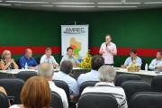 Seminário reúne representante dos 12 municípios da AMREC