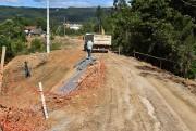 Obras de pavimentação em Siderópolis continuam avançando